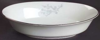 Oxford (Div of Lenox) Twilight Dell 10 Oval Vegetable Bowl, Fine China Dinnerwa