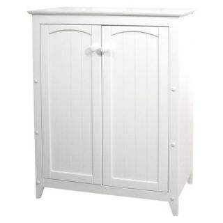 Kitchen Storage Pantry: White Double Door Jelly Cabinet