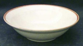 Alpine Mountain Brook Gardens Rim Cereal Bowl, Fine China Dinnerware   Orange &
