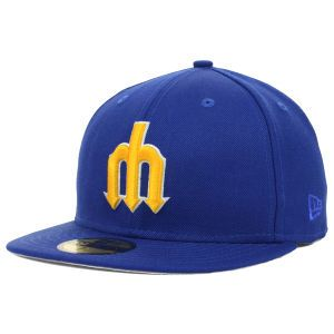 Seattle Mariners New Era MLB All Star Patch Redux 59FIFTY Cap