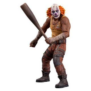 DC Collectibles Batman Arkham City   Series 3 Clown Thug with Bat Action Figure