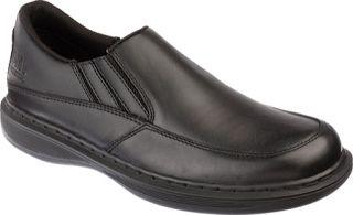 Mens Dr. Martens Oakham Slip On Shoe   Black Industrial Full Grain Work Shoes
