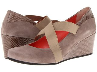 Aquatalia by Marvin K. Victory Womens Wedge Shoes (Taupe)
