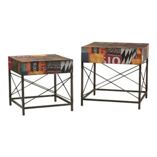 Sterling Industries 2 Piece Metal Table Set 138 138/S2