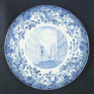 Wedgwood Harvard University Blue Dinner Plate, Fine China Dinnerware   Blue Univ