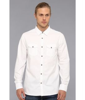 Marc Ecko Cut & Sew Falcon L/S Woven Mens Long Sleeve Button Up (White)