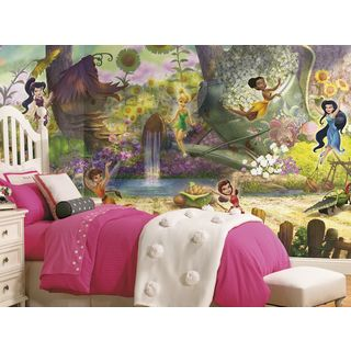 Disney Fairies Pixie Hollow Mural (6x10.5)
