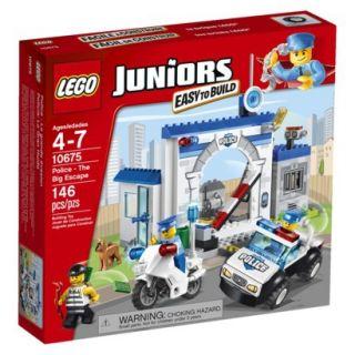LEGO Juniors Police The Big Escape   146 pieces