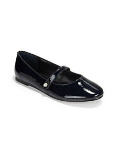 Ralph Lauren Infants & Toddlers Alyssa Patent Leather Mary Janes   Navy
