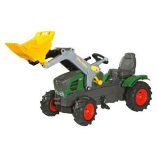 Kettler FENDT FarmTrac 211 Vario w/Front Loader & Air Tires Ride On Toy