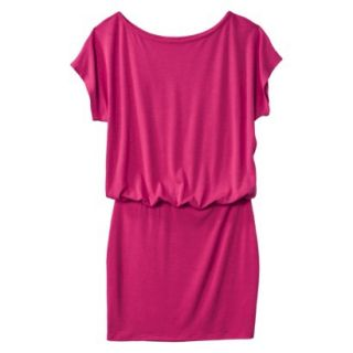 Mossimo Supply Co. Juniors Boxy Top Body Con Dress   Fresh Raspberry XXL(19)