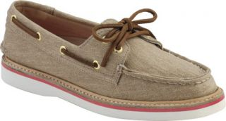 Womens Sperry Top Sider Grayson Canvas   Sand Canvas Casual Shoes