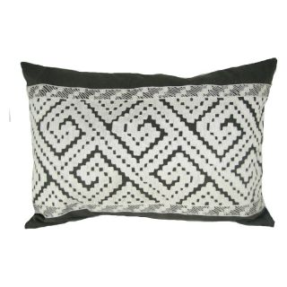 Design Accents Arabic Maze Pillow   20L x 14W in.   NSG35056 NATURAL ARABICMAZE