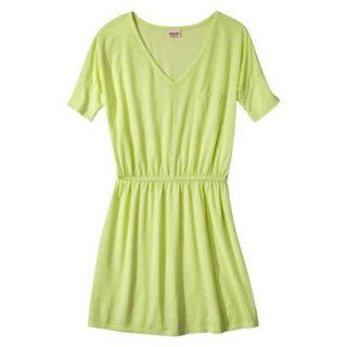 Mossimo Supply Co. Juniors V Neck Dress   Limesand L(11 13)