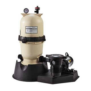 Pentair PNEC0060OE1260 EasyClean Aboveground D.E. Filter System, 1 HP 15 Sq. Ft Filter Area