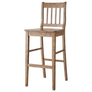 Barstool: Winfield 29 Barstool   Driftwood Grey Wash Finish
