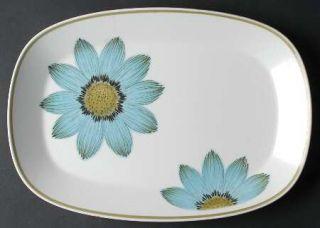 Noritake Up Sa Daisy 13 Oval Serving Platter, Fine China Dinnerware   Progressi