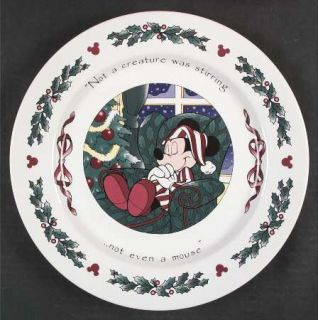 Disney Twas The Night Before Christmas Dinner Plate Fine China Dinnerware Mic & Disney Twas The Night Before Christmas Dinner Plate Fine China ...
