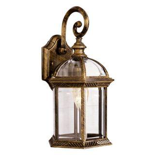 Trans Globe Lighting Bel Air Keystone Outdoor Wall Light   15.75H in.   4181 BG