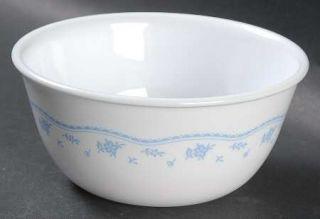 Corning Morning Blue Dessert Bowl, Fine China Dinnerware   Sunrise,Corelle,Pyrex