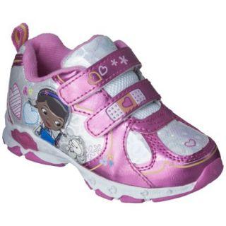 Toddler Girls Doc McStuffins Sneakers   Pink 7