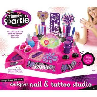 Cra Z Art Glitter &Sparkle Nail Design Studio