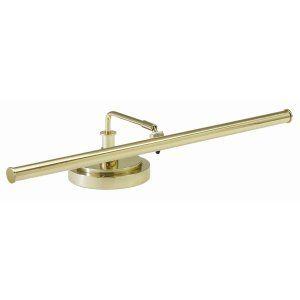 House of Troy HOU PLED101 61 Universal LED Piano Lamp Polished Brass