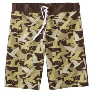 Mens Duck Dynasty Board Shorts   Camouflage 36