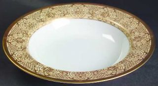 Christian Dior Grand Salon Antique Large Rim Soup Bowl, Fine China Dinnerware