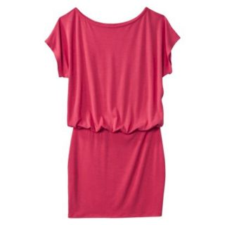 Mossimo Supply Co. Juniors Boxy Top Body Con Dress   Washed Red XS(1)