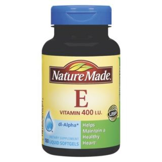 Nature Made Vitamin E Dietary Supplement   180 Count
