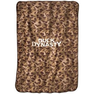 Duck Dynasty Camo Logo Blanket