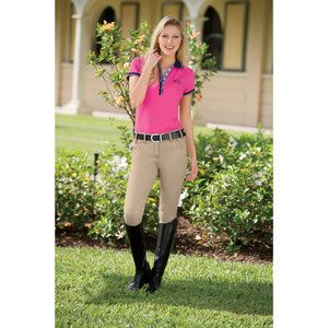 Ariat Heritage Hampton Breech Tan 28l
