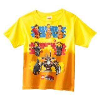 Lego Movie Boys Graphic Tee   Yellow L