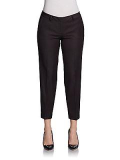 Sloane Cropped Pants   Black