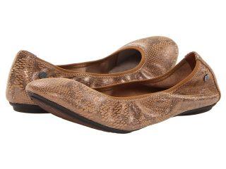 Hush Puppies Chaste Ballet Womens Flat Shoes (Tan)
