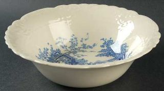 Taylor, Smith & T (TS&T) English Abbey Blue 8 Round Vegetable Bowl, Fine China