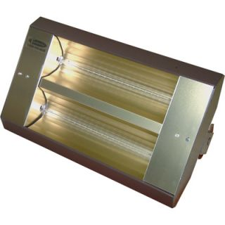 TPI Indoor/Outdoor Quartz Infrared Heater   10,922 BTU, 480 Volts, Galvanized