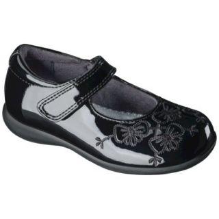 Toddler Girls Rachel Shoes Shana Patent Mary Jane Shoe   Black 8.5