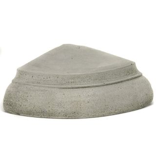 Campania International Large Wedge Riser For Cast Stone Garden Statues And Urns