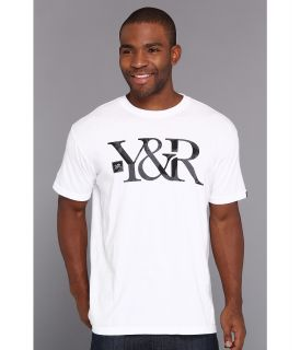 Young & Reckless In The Trenches Logo Tee Mens T Shirt (White)