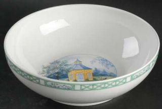 Richard Ginori Stresa 10 Large Salad Serving Bowl, Fine China Dinnerware   Yell