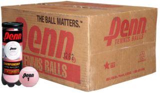 Penn Championship Pink Tennis Balls Case
