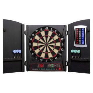 DMI Sports E Bristle Cricket Maxx 3.0 Electronic Dartboard Cabinet Set