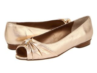 Vigotti Artie Womens Slip on Dress Shoes (Gold)