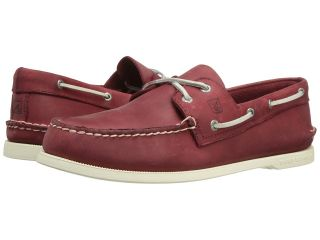 Sperry Top Sider Authentic Original Mens Lace up casual Shoes (Red)