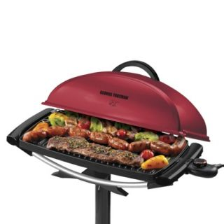 George Foreman 13 Serving Red Indoor/Outdoor Grill