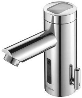 Sloan EAF275ISMIC Bathroom Faucet, Optima SOLIS Solar Powered, Automatic w/ Integral Spout Mixer amp; I.Q. Click Chrome