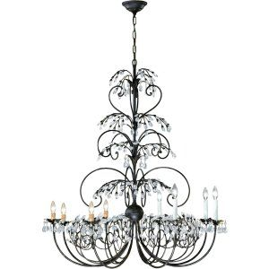 Crystorama Lighting CRY 4928 DR Victoria Chandelier