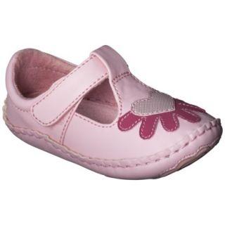 Infant Girls Genuine Kids from OshKosh Abigail Ballet Flat   Pink 4